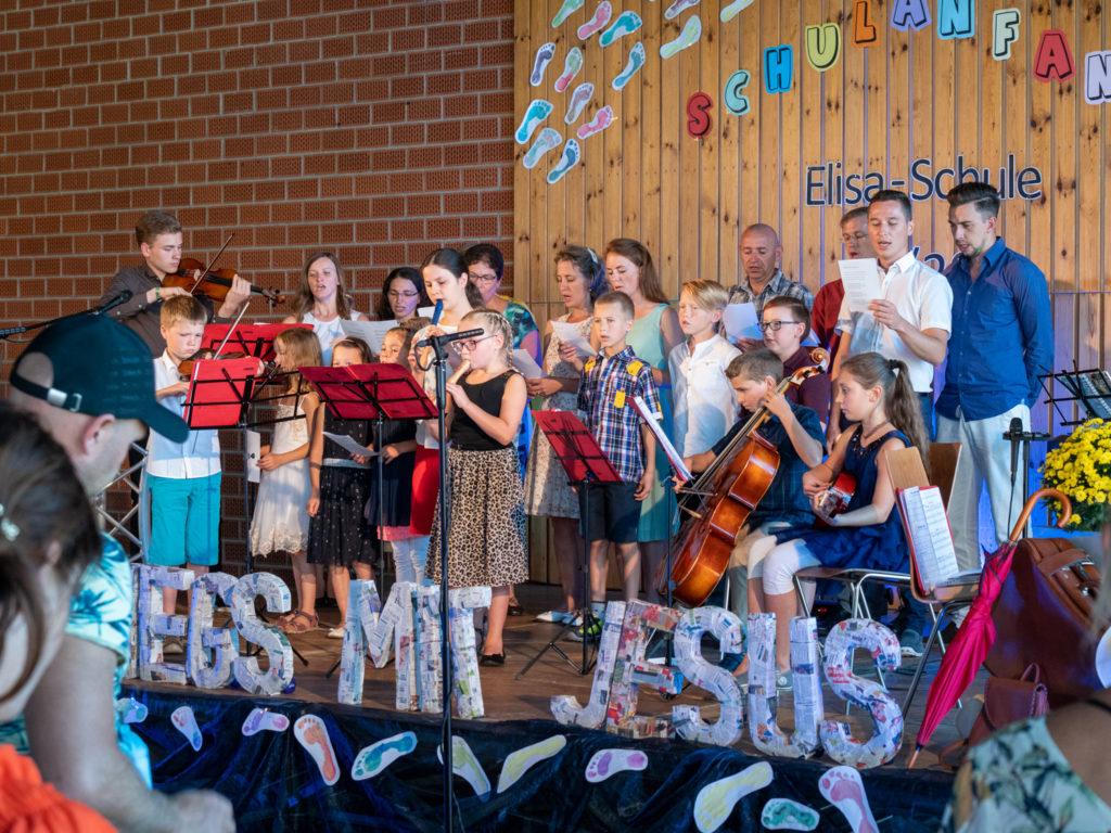 Orchester und Gesang